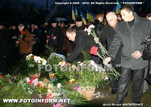 В Кировограде зажгли тысячи свечей (ФОТО Игоря Филипенко)