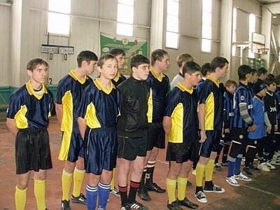 Ольшанские футболисты победили в областной спартакиаде по мини-футболу (ФОТО)
