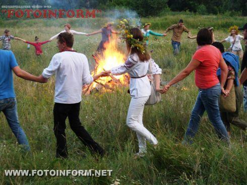 Кировоградцы зажгли огонь и развлеклись (ФОТО)