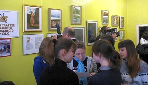 Выставка Насти Шкоды в Кировограде (ФОТО)